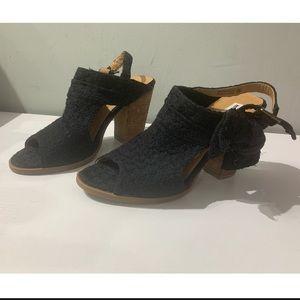 Not Rated block heels